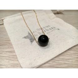 Collier Perle Onyx
