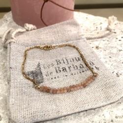 Bracelet CARAïBE Rhodonite